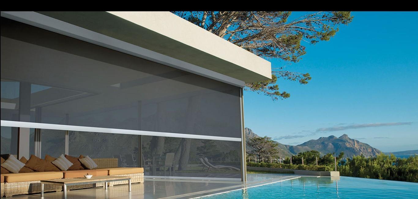 Toldo Vertical - Hunter Douglas - Terraço/Varanda
